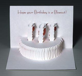 Popupcards the worlds finest quality pop up greeting cards birthday cake bookmarktalkfo Gallery